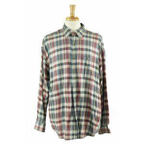 G.H. Bass & Co. Button Down Shirt XL Grey